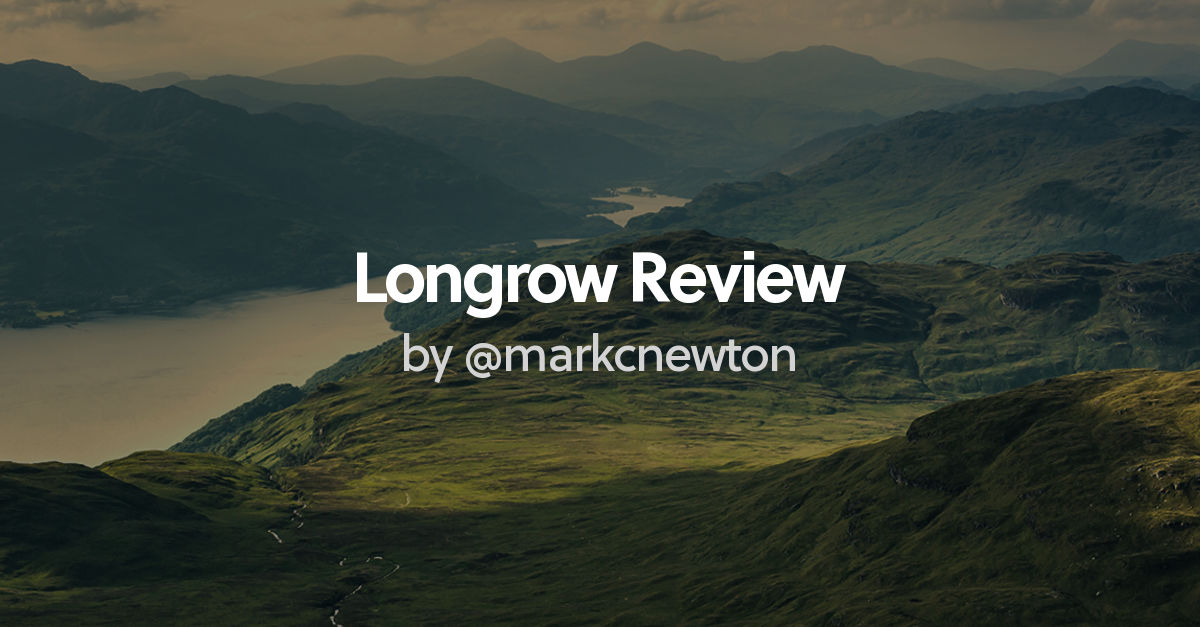 review of longrow cv by  markcnewton