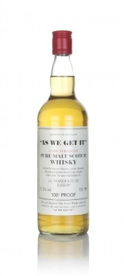 Aberlour-Glenlivet - As We Get It Single Malt Whisky