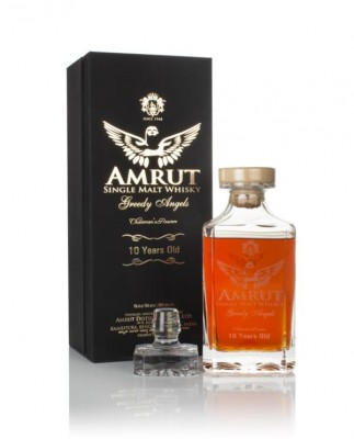 Amrut 10 Year Old Greedy Angels (2019 Release) Single Malt Whisky