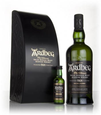Ardbeg 10 Year Old & Uigeadail Mini Gift Pack Single Malt Whisky