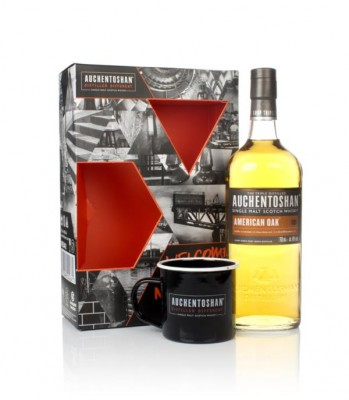 Auchentoshan American Oak Gift Pack with Cup Single Malt Whisky