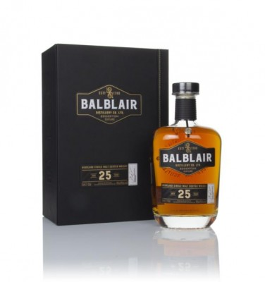Balblair 25 Year Old Single Malt Whisky