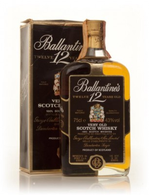 Ballantine's 12 Year Old - 1980s Blended Whisky