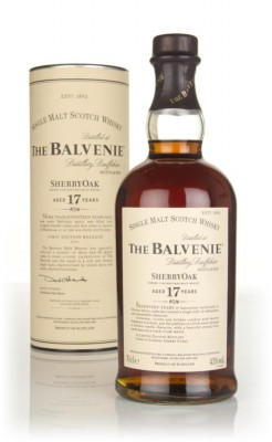 Balvenie 17 Year Old Sherry Oak Single Malt Whisky