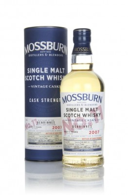 Benrinnes 11 Year Old 2007 - Cask Strength (Mossburn) Single Malt Whisky