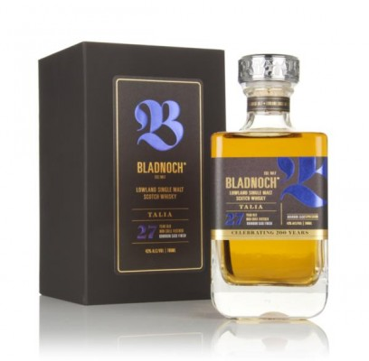 Bladnoch Talia 27 Year Old - Bourbon Cask Finish Single Malt Whisky