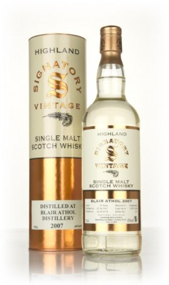 Blair Athol 10 Year Old 2007 (casks 2297 & 2299) - Signatory Single Malt Whisky