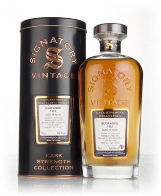 Blair Athol 28 Year Old 1988 (cask 6930) - Cask Strength Collection (S Single Malt Whisky
