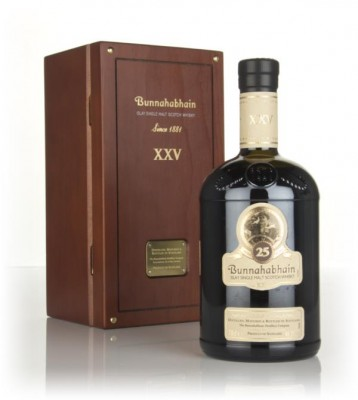 Bunnahabhain 25 Year Old (Old Bottling) Single Malt Whisky