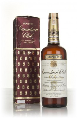 Canadian Club 6 Year Old Whisky - 1977-1983 (with Presentation Box) Blended Whisky