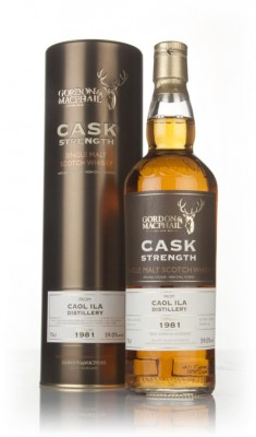 Caol Ila 34 Year Old 1981 - Cask Strength (Gordon & MacPhail) Single Malt Whisky