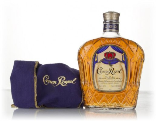Crown Royal Canadian Whisky (No Box) - 1980s Blended Whisky