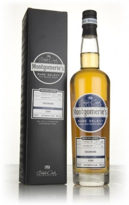 Dalmore 27 Year Old 1990 (cask 89) - Rare Select (Montgomerie's) Single Malt Whisky