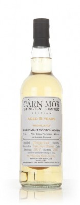 Glen Garioch 5 Year Old 2011 - Strictly Limited (Carn Mor) Single Malt Whisky