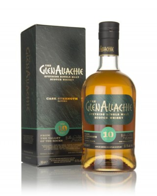 GlenAllachie 10 Year Old Cask Strength - Batch 1 Single Malt Whisky