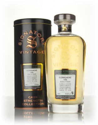 Glenallachie 21 Year Old 1996 (casks 5249 & 5250) - Cask Strength Coll Single Malt Whisky