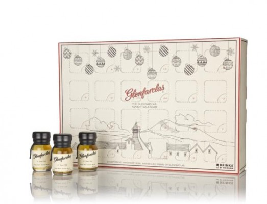 Glenfarclas Whisky Advent Calendar (2017 Edition) Single Malt Whisky