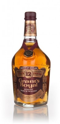 Grant's Royal 12 Year Old - 1970s Blended Whisky