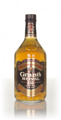 Grant's Royal 12 Year Old (43%) - 1970s Blended Whisky