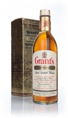 Grant's Stand Fast (Gold Box)  - 1970s Blended Whisky