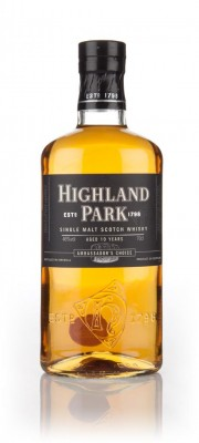 Highland Park 10 Year Old Ambassador's Choice Single Malt Whisky