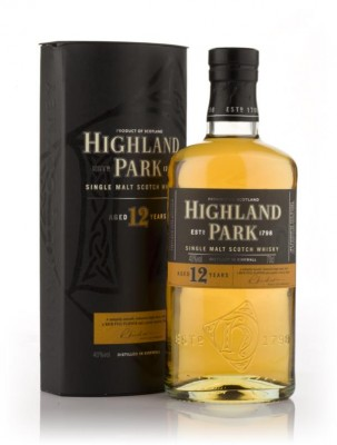 Highland Park 12 Year Old (Old Bottling) Single Malt Whisky