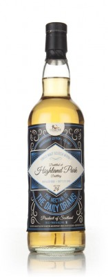 Highland Park 24 Year Old 1992 - The Nectar of the Daily Drams Single Malt Whisky