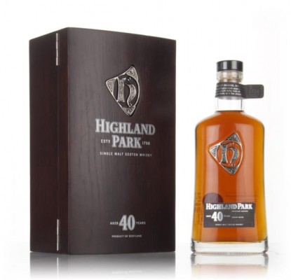 Highland Park 40 Year Old (47.5%) Single Malt Whisky