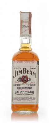Jim Beam White Label - 1970s (70cl) Bourbon Whiskey