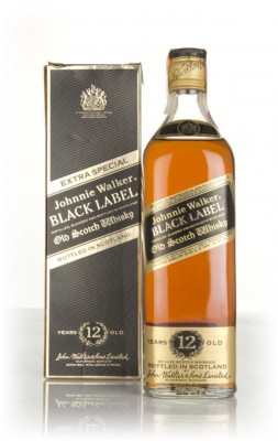 Johnnie Walker 12 Year Old Black Label Extra Special - 1980s Blended Whisky