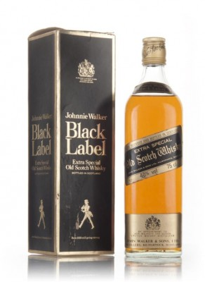 Johnnie Walker Black Label Extra Special - 1980s Blended Whisky