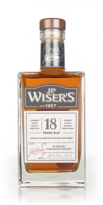 J.P. Wiser's 18 Year Old Blended Whisky