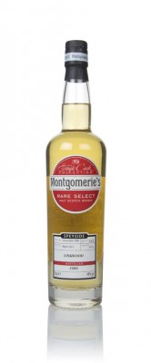 Linkwood 23 Year Old 1989 (cask 6713) - Rare Select (Montgomerie's) Single Malt Whisky