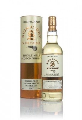 Mannochmore 10 Year Old 2007 (casks 6655 & 6656) - Signatory Single Malt Whisky