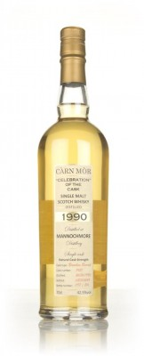 Mannochmore 27 Year Old 1990 (cask 7431) - Celebration of the Cask (Ca Single Malt Whisky