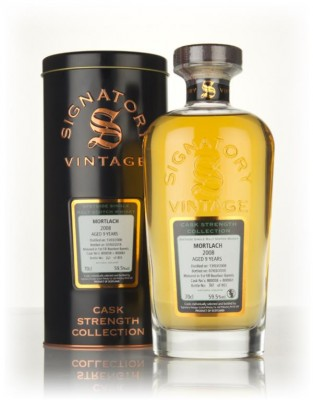 Mortlach 9 Year Old 2008 (casks 800058 & 800061) - Cask Strength Colle Single Malt Whisky