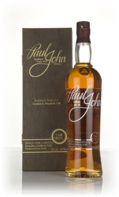 Paul John Single Cask (cask #4611) Single Malt Whisky