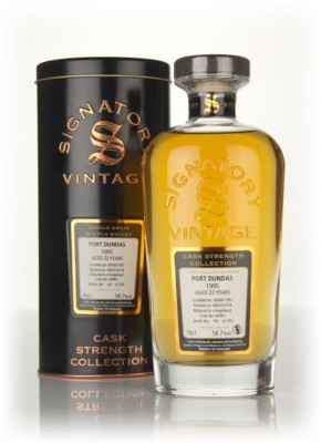 Port Dundas 22 Year Old 1995 (cask 64901) - Cask Strength Collection ( Grain Whisky