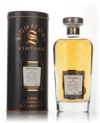 Port Dundas 25 Year Old 1991 (cask 50404) - Cask Strength Collection ( Grain Whisky
