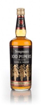 Seagram's 100 Pipers - 1970s Blended Whisky