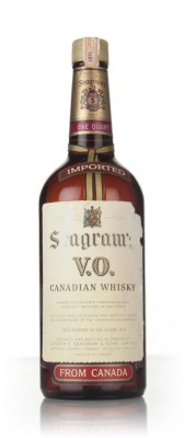 Seagram's V.O. 6 Year Old Canadian Whisky - 1971 Blended Whisky