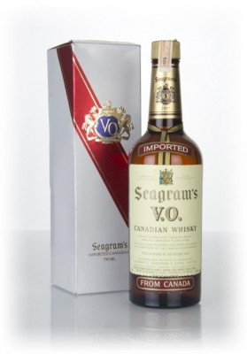 Seagram's V.O. 6 Year Old Canadian Whisky (Boxed) - 1976 Blended Whisky