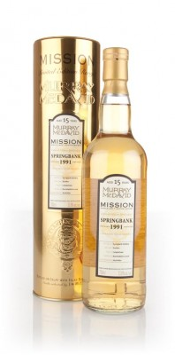 Springbank 15 Year Old 1991 - Mission Gold (Murray McDavid) Single Malt Whisky