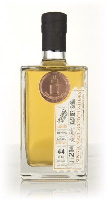 Strathmill 21 Year Old 1996 (cask SM96A) - The Single Cask Single Malt Whisky