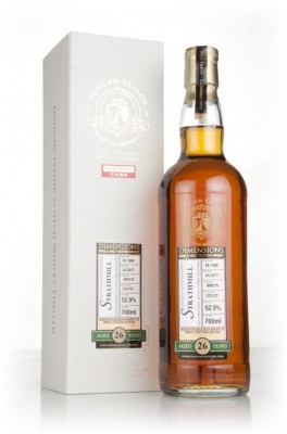 Strathmill 26 Year Old 1990 (cask 998319) - Dimensions (Duncan Taylor) Single Malt Whisky