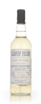 Teaninich 10 Year Old 2007 - Strictly Limited (Carn Mor) Single Malt Whisky