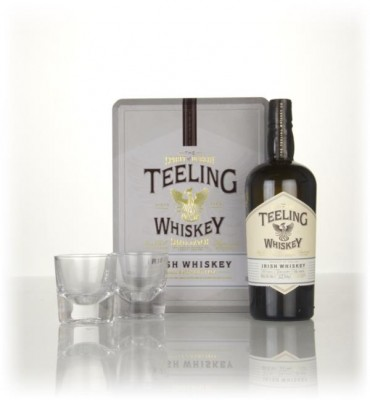 Teeling Small Batch Gift Pack with 2x Glasses Blended Whiskey