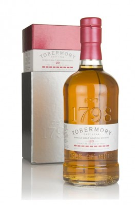 Tobermory 20 Year Old Single Malt Whisky