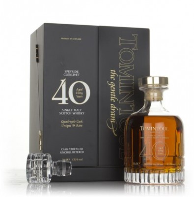 Tomintoul 40 Year Old Quadruple Cask Single Malt Whisky