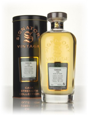 Tormore 29 Year Old 1988 (casks 15586 & 15593) - Cask Strength Collect Single Malt Whisky